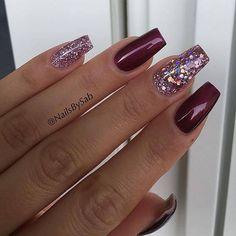 50 Fabulous Ways to Wear Glitter Nails Like a Boss #GlitterNails