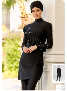 Full Cover Lycra Burkini Swimsuit 14101 is one of the most stylish set of 2019 spring - summer collection Full Cover Lycra Burkini Swimsuit 14101 details, Fabric is made by Pa - Elastane swimsuit Full cover lycra burkini swimsuit 410 Muslim Swimwear, Modele Hijab, Modest Swimsuits, Red Swimsuit, Hijab Fashion, Fashion Tips, Swimming Costume, Designer Wedding Dresses, Ladies Dress Design