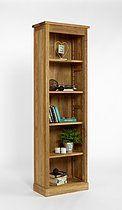 Brooklyn Contemporary Oak Alcove Bookcase £370.47