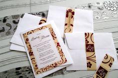 Invitación Sencilla Clásica BOINV13   Invitaciones de Boda Costa Rica