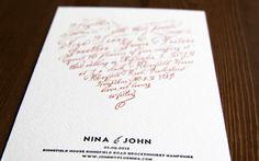 DIY Letterpress Wedding Invitations via Oh So Beautiful Paper (9)