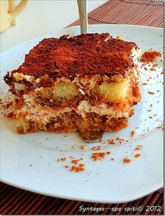 Tiramisu, Ίσως το αυθεντικό… Tiramisu, French Toast, Sweet Treats, Sweets, Cooking, Breakfast, Ethnic Recipes, Desserts, Greek Recipes