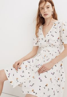 89bac88a38d Women s Dresses. Madewell DressesEnd Of SummerCosta RicaBlossomsWomen s  DressesFlowersFlorals. Daylily Pintuck Dress in Sweet Blossoms