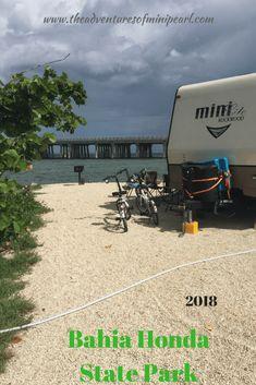 Bahia Honda - The Florida Keys after Hurricane Irma - The Adventures of Mini Pearl Florida Camping, Florida Travel, Florida Keys, Florida Campgrounds, Bahia Honda, Travel Tips, Travel Ideas, Travel With Kids, West Coast