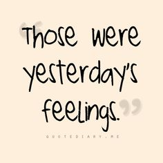 Soo hard to remember... i'm such a feelings person... i need to learn to release it