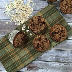 One-Bowl Loaded Oatmeal Muffins