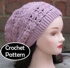CROCHET HAT PATTERN Pdf Instant Download  Remy ♥ by AlyseCrochet, $4.50