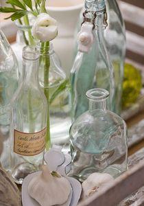 Lovely vintage glass bottles