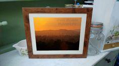 Sunset Photography Print framed photograph wall art