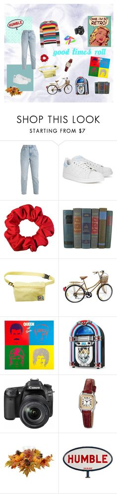 """""""Let Good Times Roll."""" by elletozier on Polyvore featuring moda, Gucci, adidas Originals, Billabong, Victrola, Eos y Charles Hubert"""
