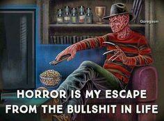 A Nightmare on Elm Street horror movies area my escape Horror Icons, Horror Art, Horror Movie Characters, Horror Movies, Slasher Movies, Horror Villains, Freddy Krueger, Dark Beauty, Funny Horror