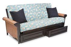 Coastal cover, tropical futon.