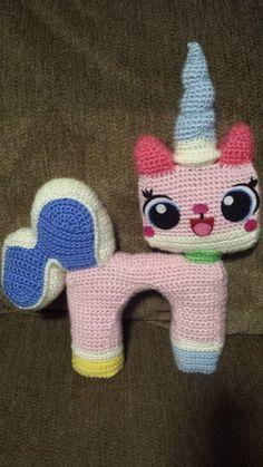 Princess Unikitty Amigurumi doll!!!!! She's adorable! https://www.etsy.com/listing/213316742/lego-movie-princess-unikitty-ish