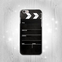 Director Clapboard iPhone 6 6 Plus 5 5S 5C 4 4S Htc One M8 M7 X Samsung Galaxy S6 S6 Edge+ S5 S4 S3 mini Note 5 4 3 2 Case