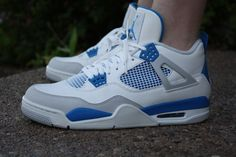 First time in Js. Jordan 4s Military