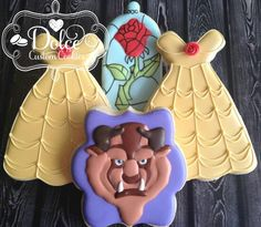 Beauty & the Beast Cookies