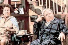 His faces alone were the best! All in the Family. Carroll O'Connor was one of the funniest guys on television.