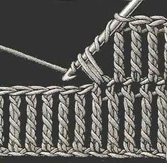 Making beautiful woolen designs Crochet Vintage, Love Crochet, Learn To Crochet, Crochet For Kids, Crochet Lace, Crochet Stitches Patterns, Crochet Designs, Knitting Patterns, Crochet Crafts
