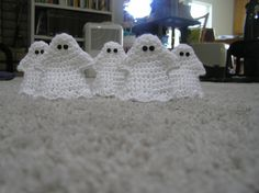 Ghosts 5 for 5 Dollars by CittysCrochet on Etsy, $5.00