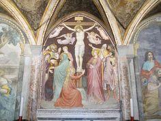 Niccolò di Pietro Gerini - Crocifissione - affresco - 1387 - Sala capitolare, Chiesa di S. Felicita, Firenze