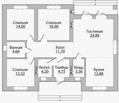 3d House Plans, Architectural House Plans, Small Modern Home, House Md, Future House, Life Hacks, Sweet Home, Floor Plans, Home And Garden