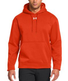 Another great find on #zulily! Dark Orange Armour® Fleece Team Hoodie #zulilyfinds