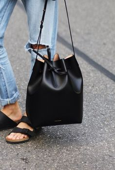 mansur gavriel bucket bag.
