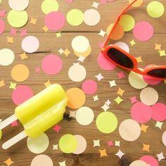Confetti rond Zomerfeest