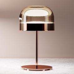Equatore - LED-Tischleuchte in Kupfer, 42,5 cm Jetzt bestellen unter: https://moebel.ladendirekt.de/lampen/tischleuchten/beistelltischlampen/?uid=9e4c0fd7-1a93-543f-a922-3841393f1e65&utm_source=pinterest&utm_medium=pin&utm_campaign=boards #lampen #tischleuchten #beistelltischlampen Bild Quelle: www.lampenwelt.de