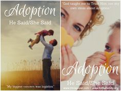 John and Tricia Goyer share their He Said, She Said perspectives on adoption!