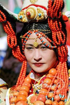 Khampa Tibetans Headdresses part 2