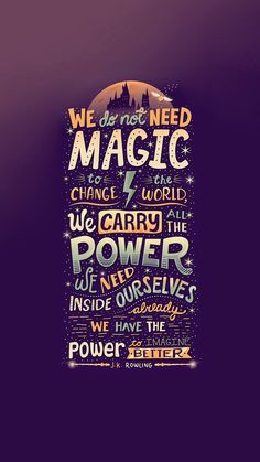 We have the power to imagine better. - J.K. Rowling. Inspirational life quotes that are full of wisdom and positive spirit. Tap to see more motivational quotes! - @mobile9
