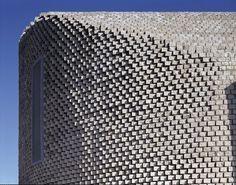 corten steel facade brick - Google Search