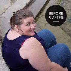 Before and After: How One Woman Lost Half Her Size, I like how she spells out what she does.