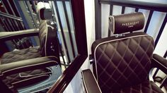 Care to Take a Seat? Bentley Designs Chairs for London Grooming Salon - Carscoops
