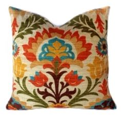 WAVERLY Pillow Cover DECORATIVE PILLOW Cover by ThePillowFight