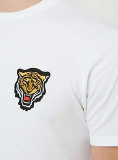White Tiger Badge T-Shirt