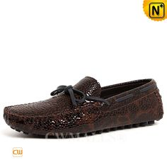 CWMALLS® Patent Leather Moccasins CW707011  Designer leather tie driver for men crafted from premium cowhide leather with embossed shell and leather lined, patent leather moccasins in tie details at vamp, allover embossed pattern, and rubber pebble outsole, makes this a very comfortable for walk  www.cwmalls.com  Email: sales@cwmalls.com