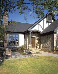 Sheffield Estate Tudor Home - Plan #072D-0002 | houseplansandmore.com
