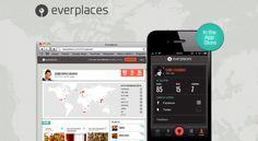 Everplaces app tracks favorite places, recommendations