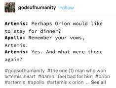Apollo And Artemis, Apollo 1, Percy Jackson Memes, Percy Jackson Fandom, Greek Mythology Humor, Goddess Names, Achilles And Patroclus, Greek Memes, Greek Gods And Goddesses