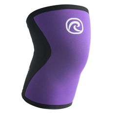These 5mm thick neoprene knee compression sleeves deliver consistent support with a unique level of flexibility. Now in Purple. Get yours at Rogue today! Knee Compression Sleeve, Knee Cap, Knee Sleeves, Purple And Black, Squats, Calves, 3 D, Pairs, Flexibility