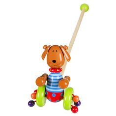 Encourage your Kids to walk with this cool dog push along. A great gift for any occasion.