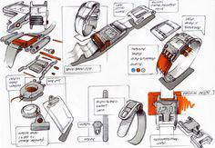 layout, some colour.not alot needed tbh Sketch Inspiration, Design Inspiration, Designs To Draw, Cool Designs, Isometric Drawing, Sketching Techniques, Conceptual Drawing, Presentation Styles, Industrial Design Sketch