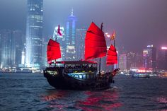 Hong Kong by Night, by Sea
