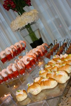 "What a great way to serve ""salad"" sandwiches--lobster rolls, chicken salad, etc."
