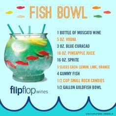 Fun party idea.... it's a - fishbowl