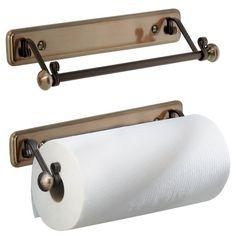 Vintage Paper Towel Holder Under Oil Rubbed