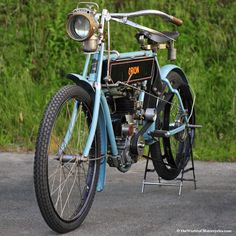 vintage motorcycles | Direct drive (clutchless) model, it retains the original low-tension ...