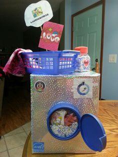Washing Machine Valentine Box!